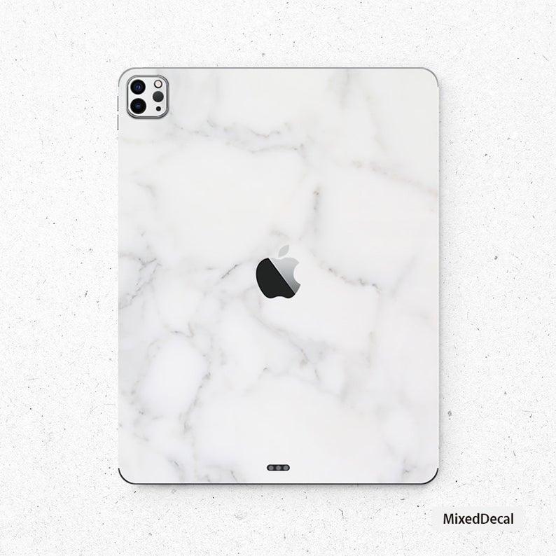 Ipad 8 New Ipad Pro 12 9 2020 Sticker White Marble Ipad Mini Decal Ipad Pro 11 2020 Skin Ipad Air 4 In 2021 Ipad Pro Apple Iphone Accessories New Ipad Pro