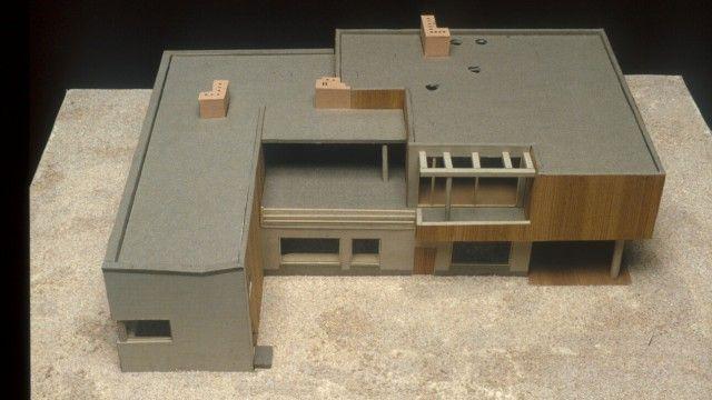 Alvar Aalto Residential Building And Studio 1935 36 Model