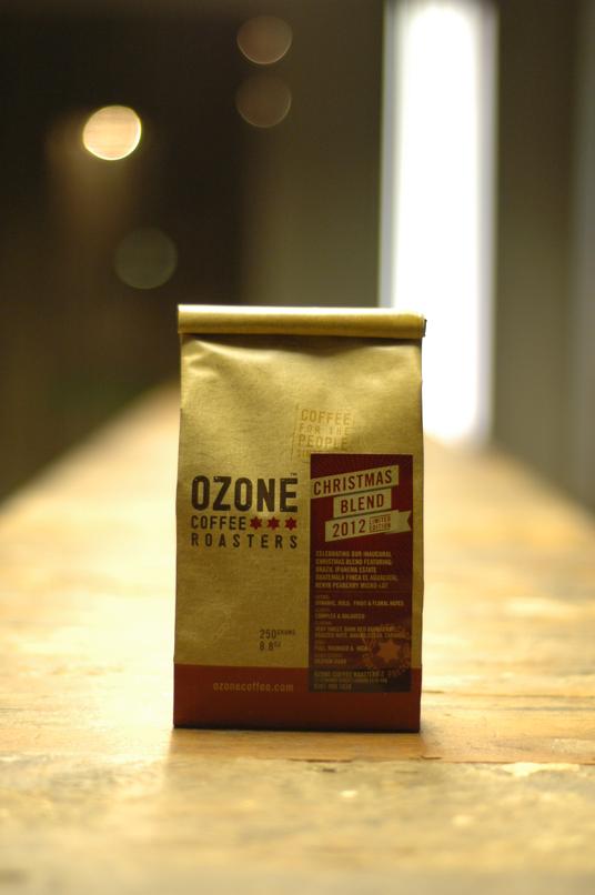 OzoneChristmas2012blend1 Christmas coffee, Coffee