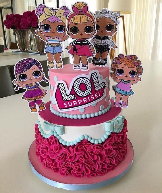 Чудесные идеи кукольных тортов (28 фото) | Смешные торты ...