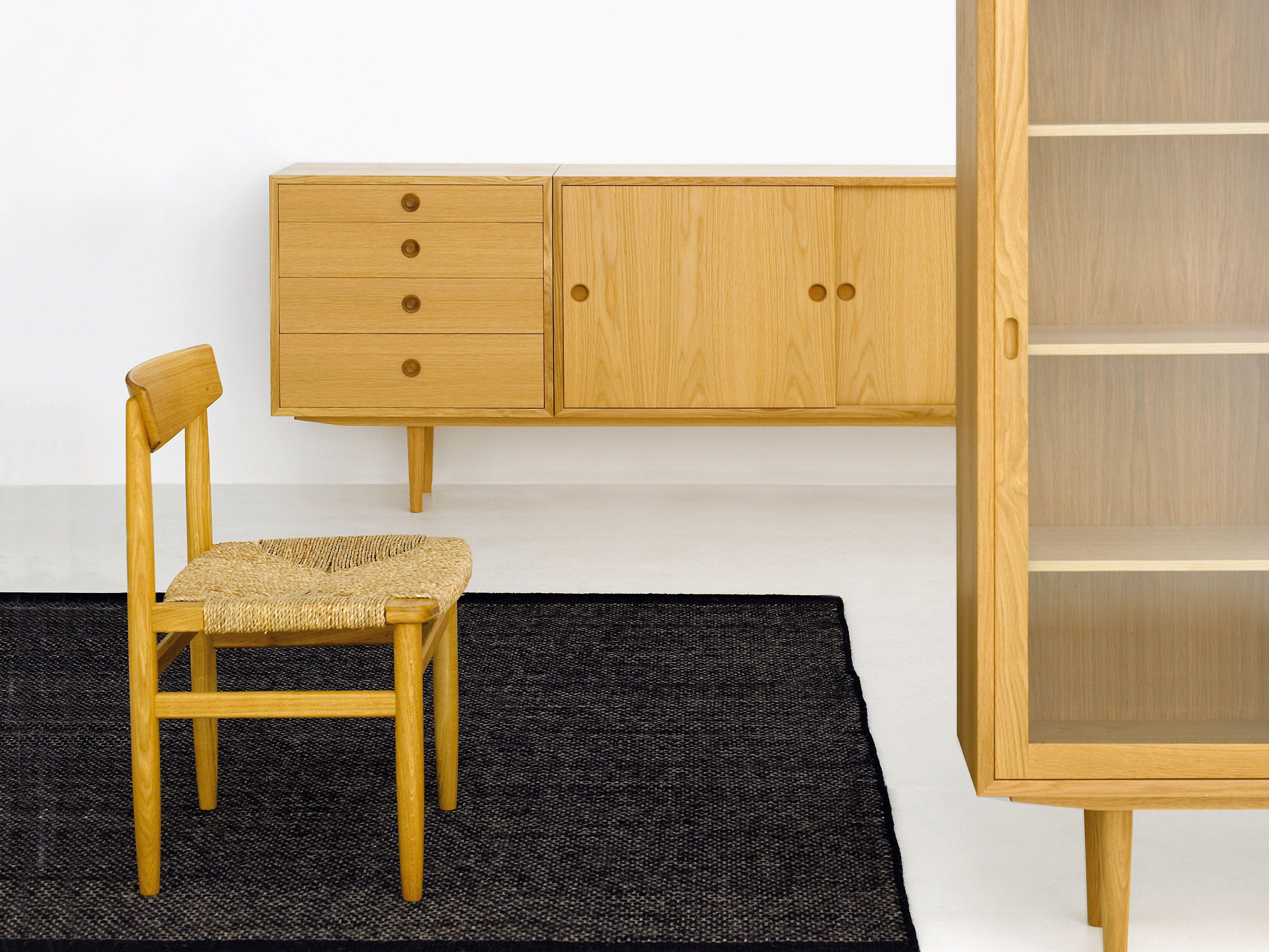 Öresund storage and chair design børge mogensen produced by karl