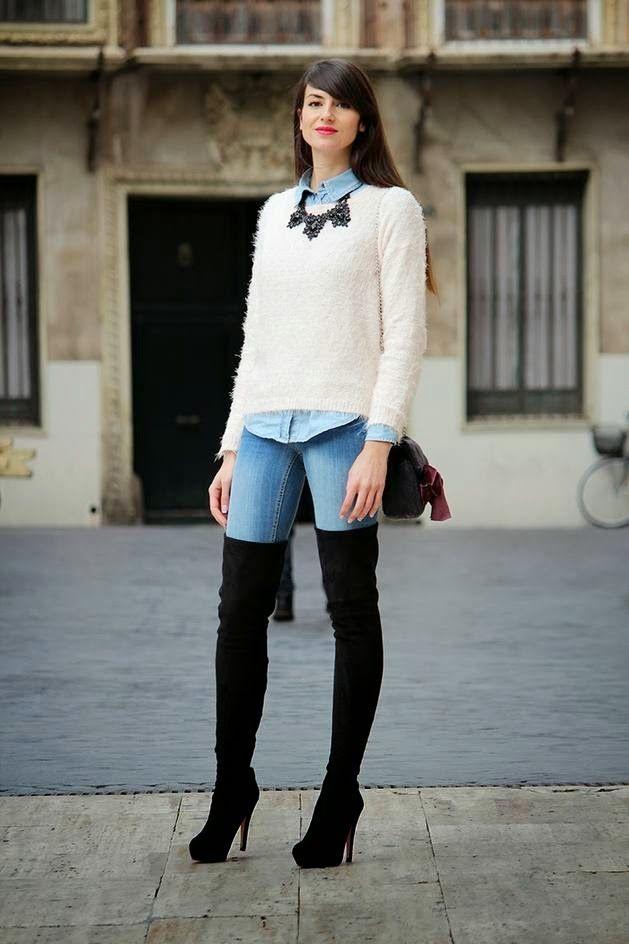 939b986146 Looks de street style con botas altas