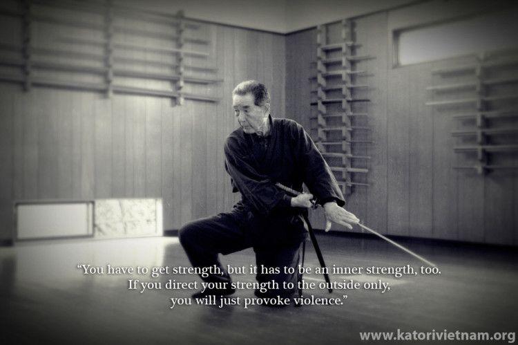 The teaching of Katori Shinto Ryu