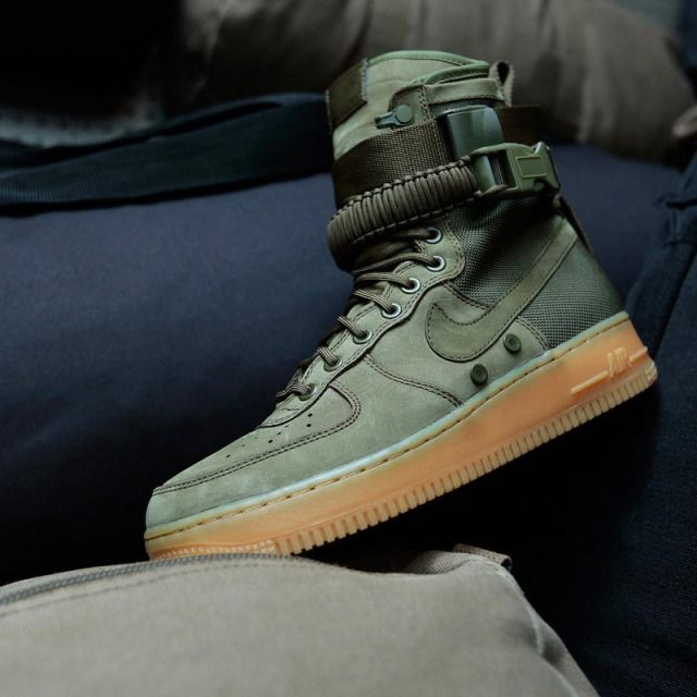various colors 26993 79909 Nike Special Forces Air Force 1 boot Faded Olive Faded 859202 339 womens  mens running shoes