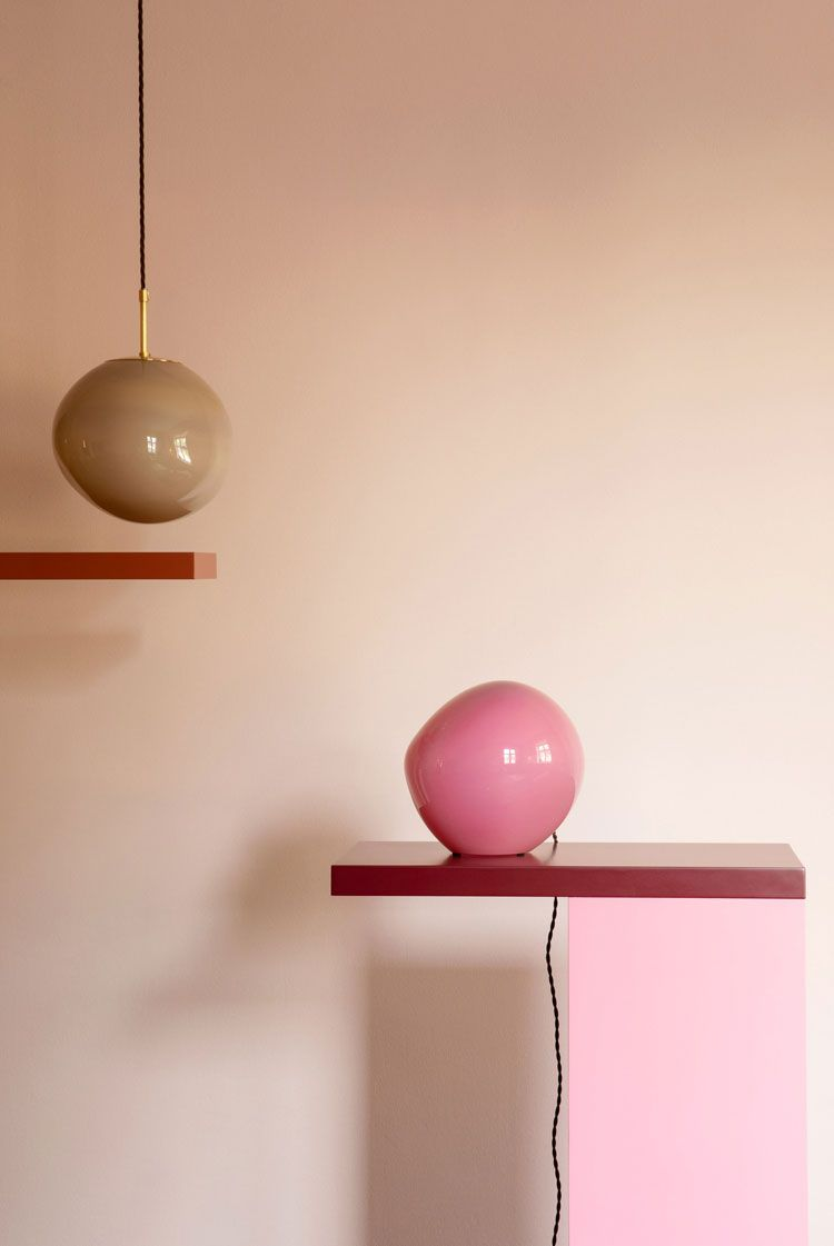 Bold Lights Bright Style Lamp Design Colored Glass Lamp Bases