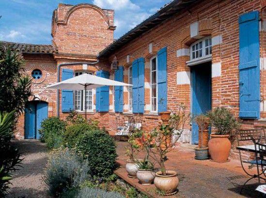 D co int rieure visitez cette maison toulousaine de - Maison provinciale rustique campagne svetti ...