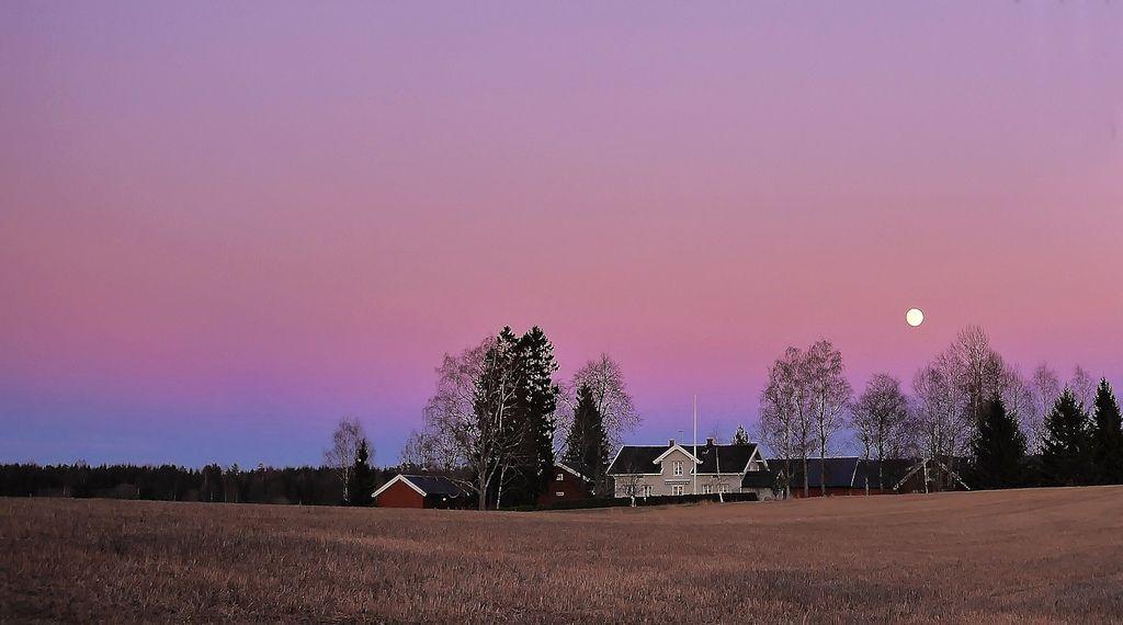 Farm in the January afternoon, Ski, Norway | par JRJ.