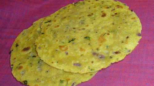 Indian Vegetarian Low Gi Recipes: Missi Roti (Low Glycemic Index
