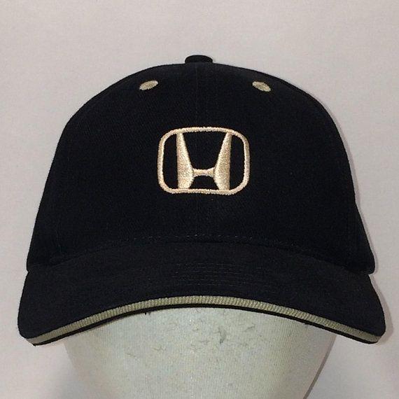 df0c6020 Honda Logo Hat Black Beige Baseball Cap Car Dad Hats For Men Gift ...