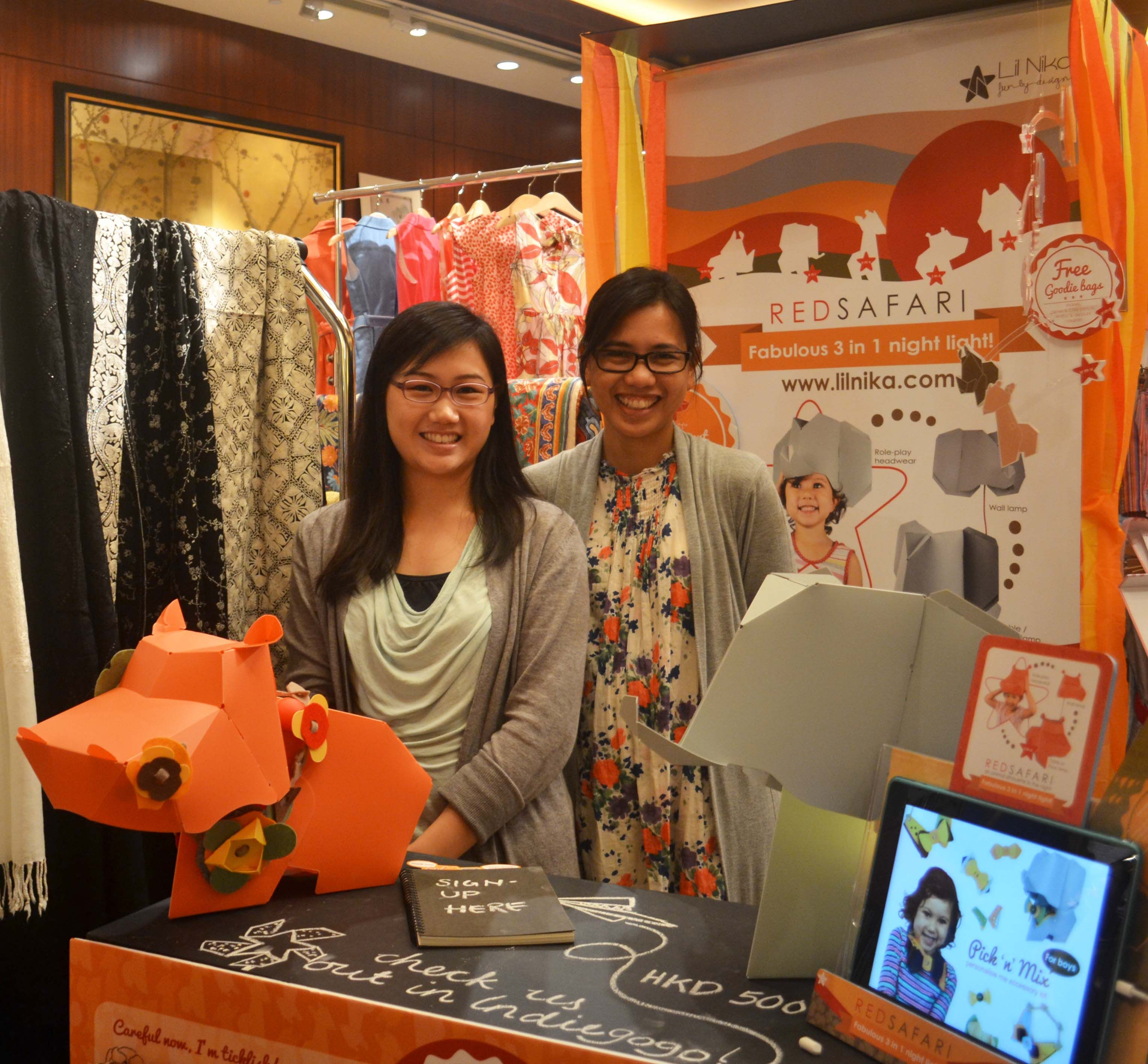 19 May, Lil Nika at the Prestige Fair 2014 @ Conrad, Hong Kong. We want to thank everyone that came over to our booth, we always appreciate good feedback and showers of praises :D