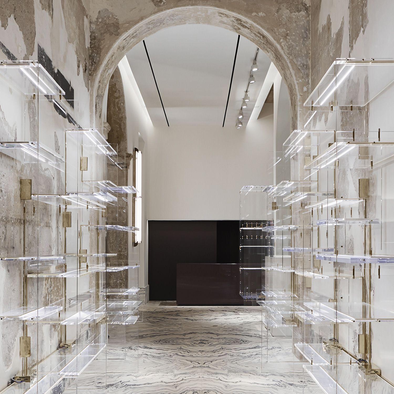 Antonia Milano Retail Interior Design Boutique Interior Retail