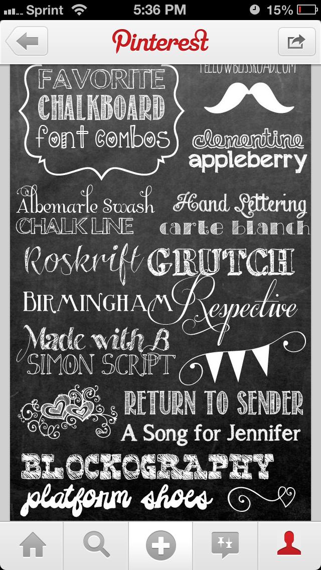 Pin By Thatyane Martins On Card It Free Chalkboard Fonts Chalkboard Fonts Lettering