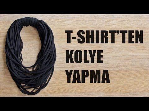 Photo of Kendin Yap: T-Shirt'ten Kolye Yapma (DIY) | Giyen Bayan