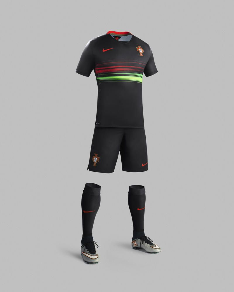 df2d03e113c Portugal National Football Team's Skill and Flair Inspire 2015-16 Away Kit  by Nike