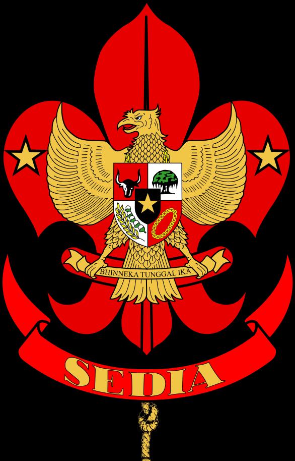 586px Ikatan Pandu Indonesia Svg Png 586 914 Piksel Pramuka Indonesia