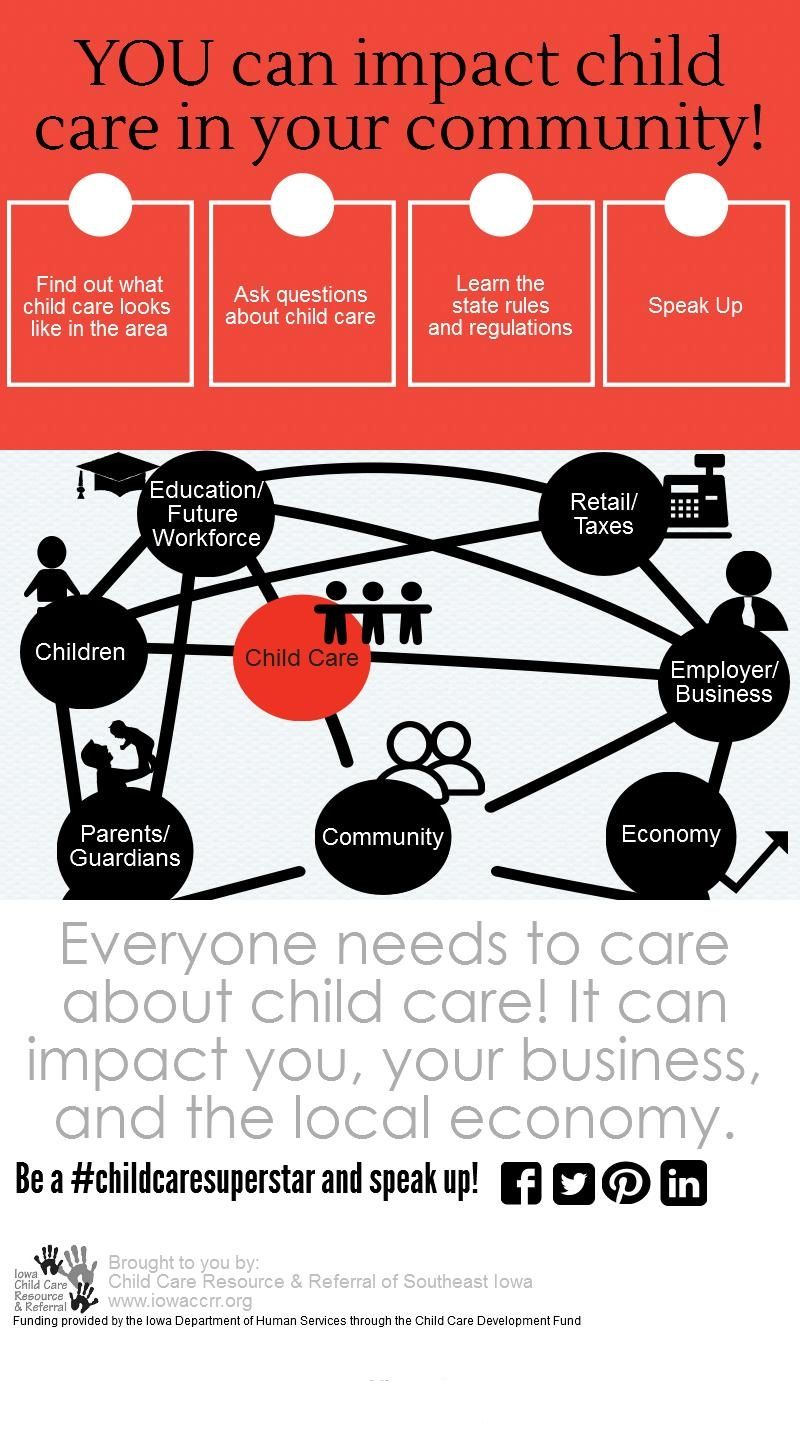 YOU can impact child care in your community. Be a
