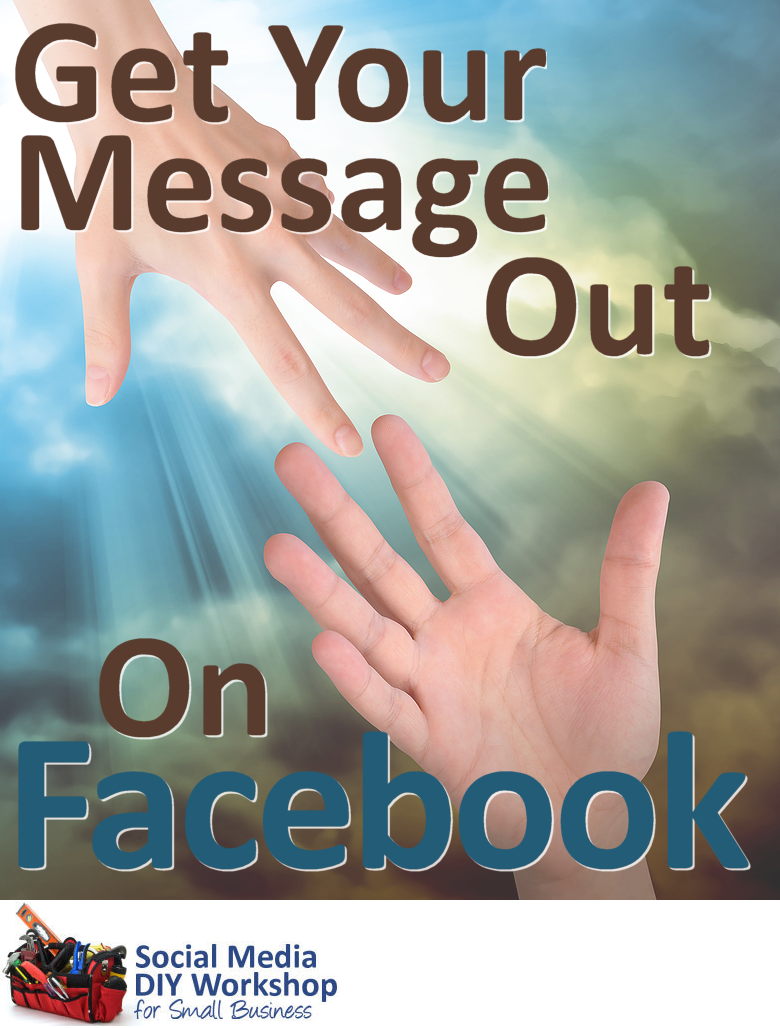 Facebook is a valuable tool, but you can't rely on it to get your message out to your community. Learn how Facebook shares your business page wall posts and how to increase your post visibility. Click through for article.