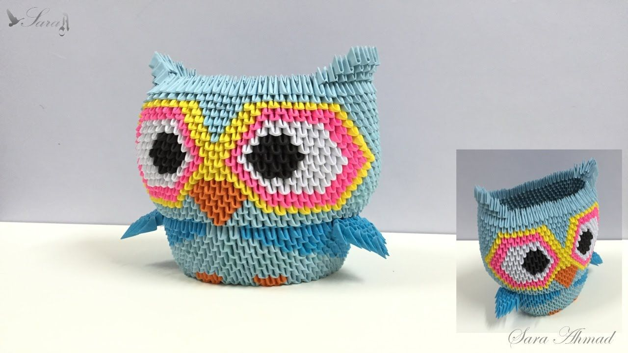 If You Give a Hoot about Origami then Check Out these Owls | 720x1280