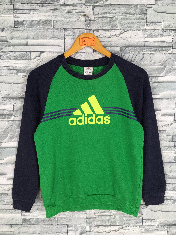 Vintage 90s Adidas Equipment Sweatshirt Women Small Adidas Big Etsy Sweatshirts Women Adidas Pullover Sweater Sizes