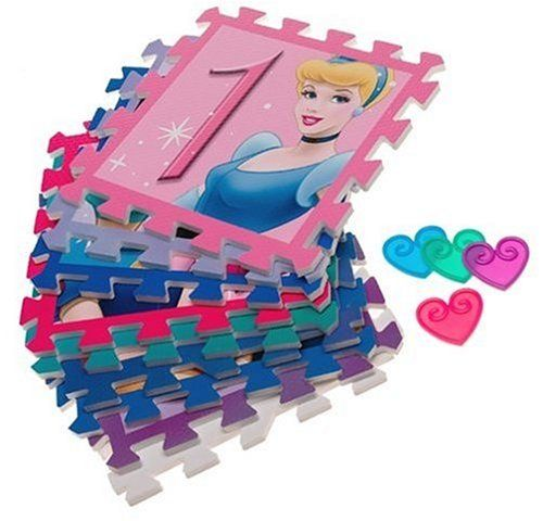 Disney Princess Deluxe Hopscotch Foam Floor Mat