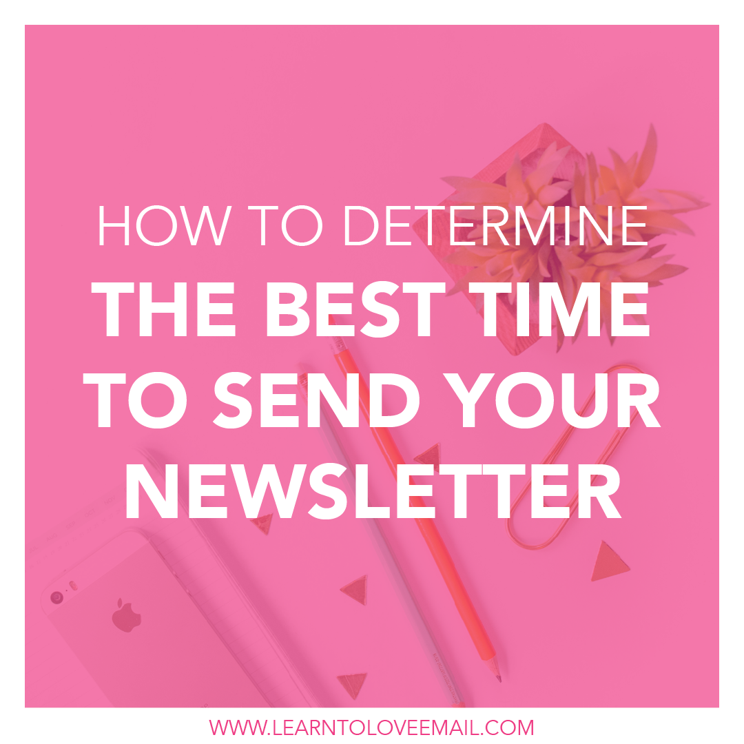 Here are some tips to determine the best time to send your email newsletter out to your subscriber business.