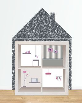 limmaland kleine m bel villa diy ikea hack kids expedit kallax puppenhaus barbie www. Black Bedroom Furniture Sets. Home Design Ideas
