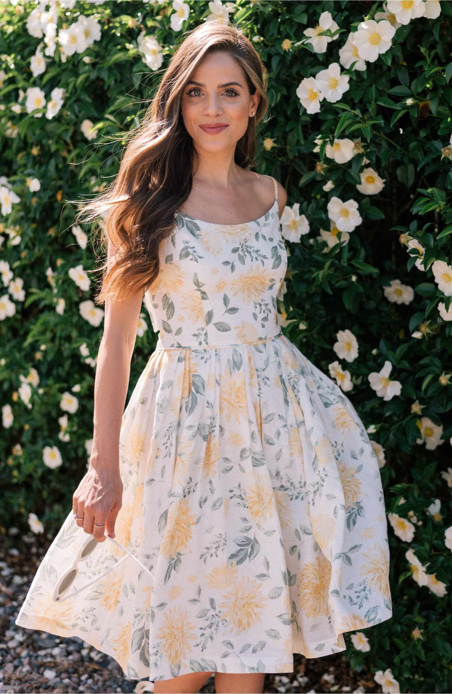 c828c97d4a4 Main Image - Gal Meets Glam Collection Abigail Painted Aster Fit   Flare  Sundress