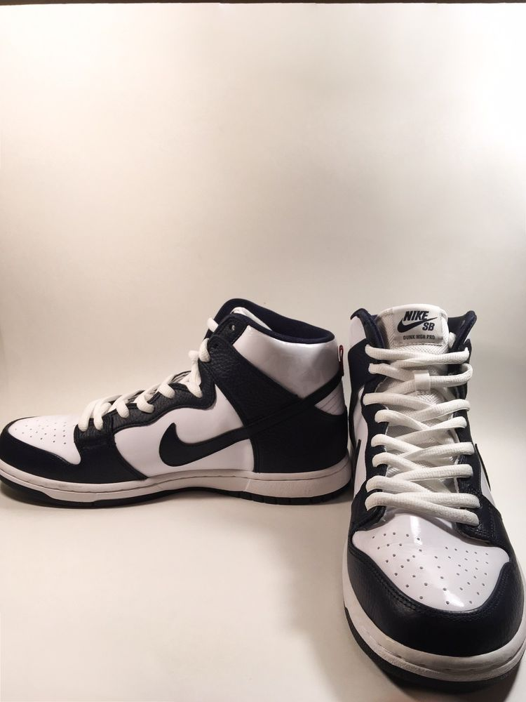on sale 7e64b 69bbb New Nike SB Zoom Dunk High Pro Obsidian-White Men s Shoe Size 11  fashion   clothing  shoes  accessories  mensshoes  athleticshoes (ebay link)