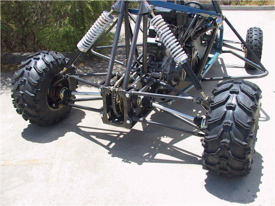 Buggy suspension product consider, that