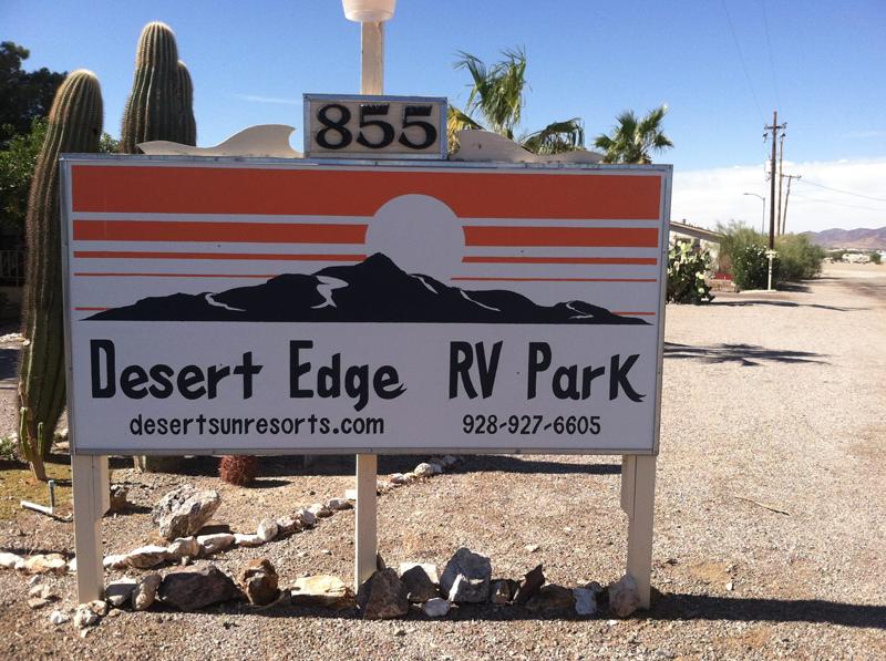 Desert Edge RV Park At Quartzsite Arizona