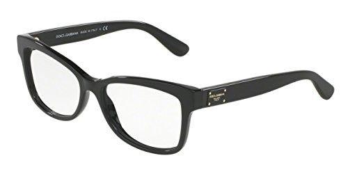 c50c4ba60ac Dolce Gabbana DG3254F Eyeglass Frames 501-54 - Black