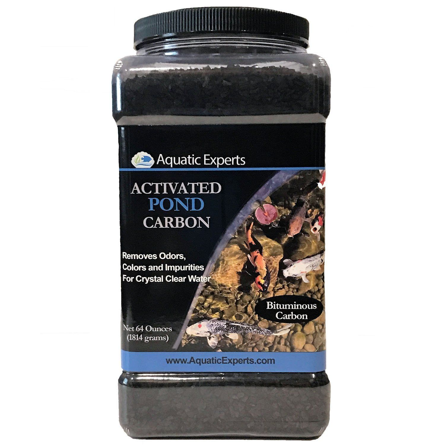 Activated Pond Carbon 56 ounce (bulk container) for