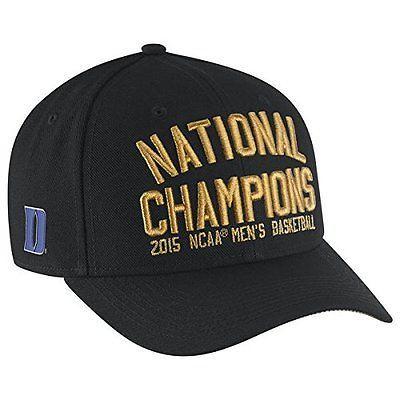 Nike-Official-2015-NCAA-Men-039-s-Basketball-National-Champions-Duke-Locker-Room-Hat