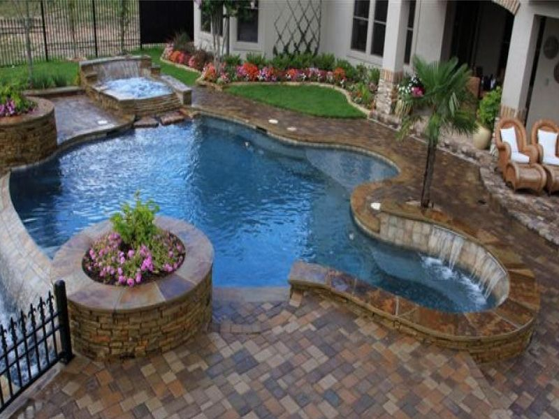 Houston Swimming Pool Gallery » Richards Total Backyard Solutions Spool  Pool, Pools For Small Yards