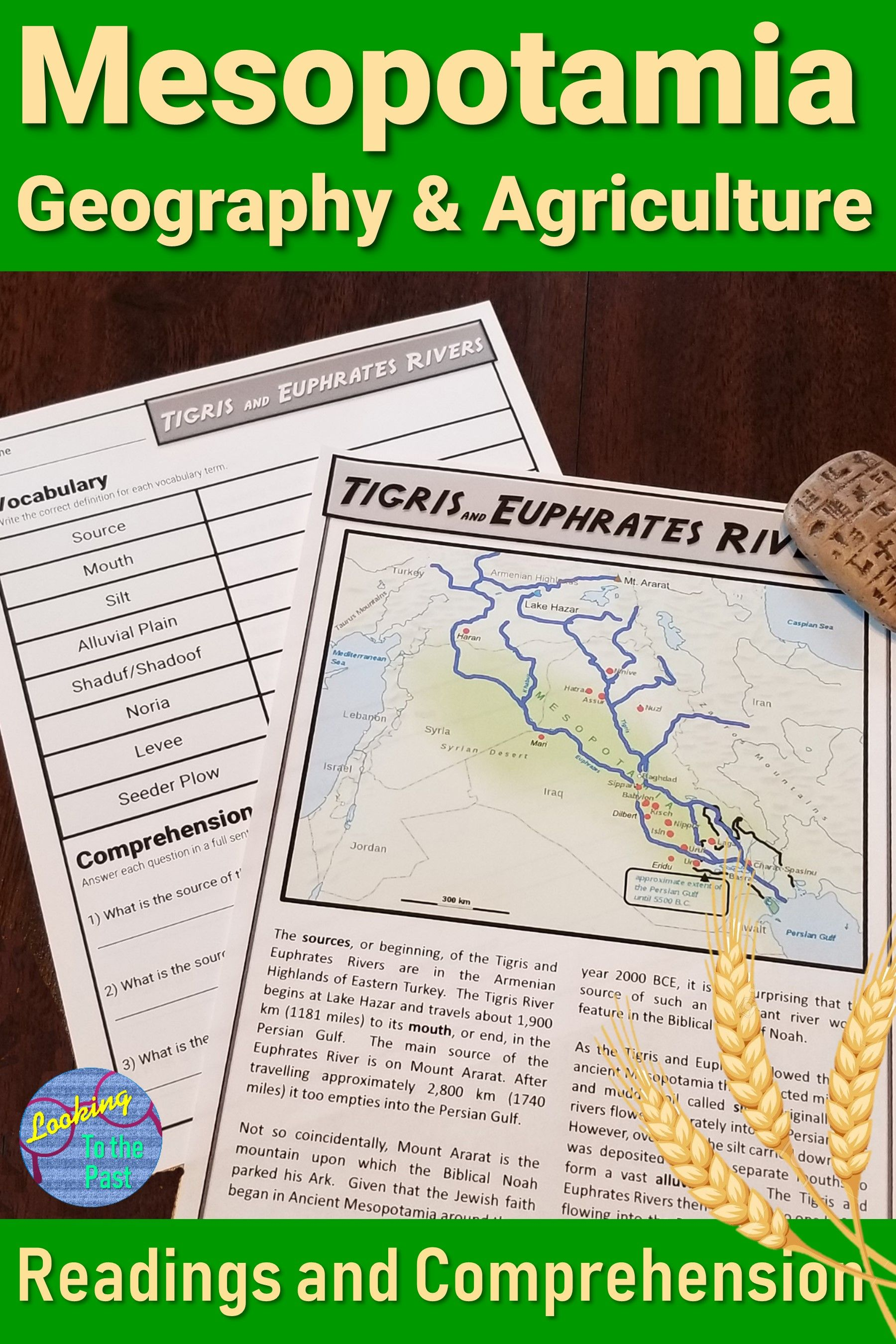small resolution of Ancient Mesopotamia Map Worksheet   Printable Worksheets and Activities for  Teachers