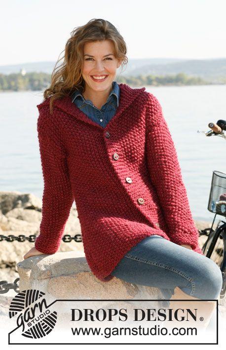 Sweaters Pattern Free Knit Adult Capucha Y Pinterest Sacos Arroz qtwz4FR