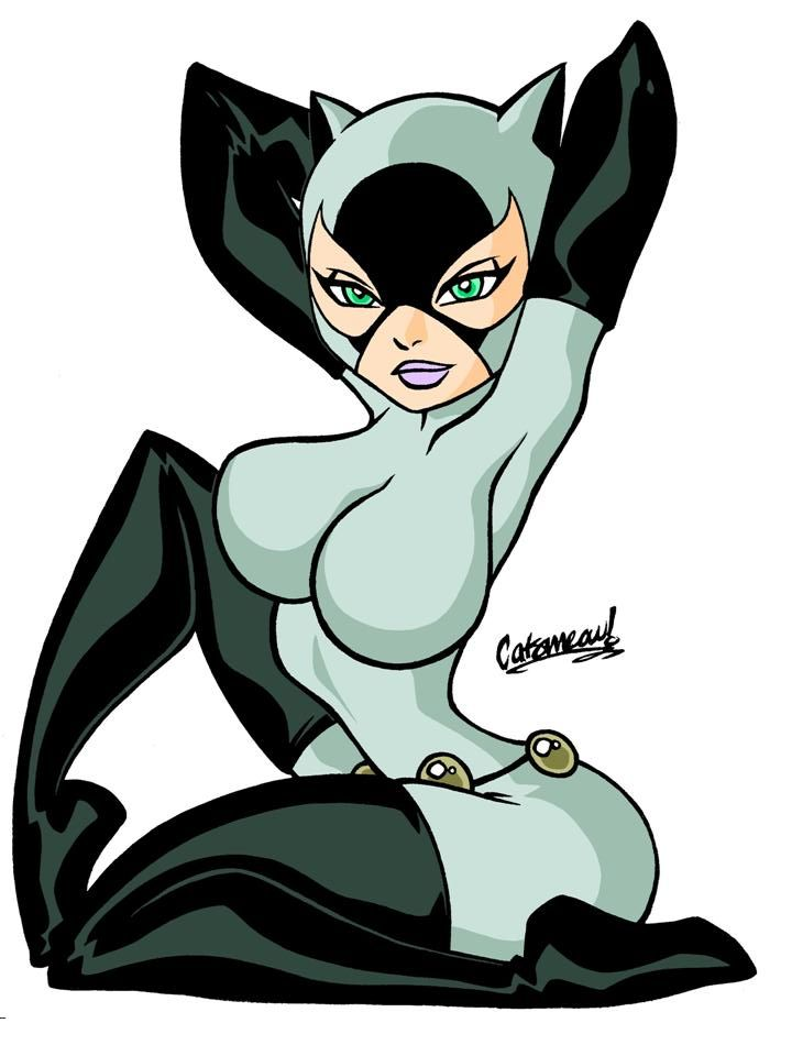 Animated catwoman by assesina on deviantart selina kyle pinterest catwoman comics and dc - Cat cartoon shows ...