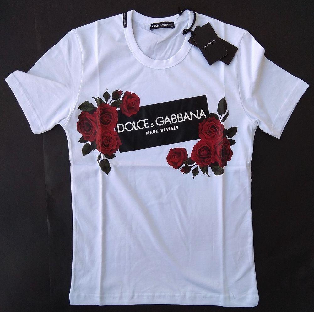 640dbc8eda89 New DOLCE GABBANA Men s T-Shirt Size 2XL Crown King Love D G DG Italy Rose  Logo  fashion  clothing  shoes  accessories  mensclothing  shirts (ebay  link)