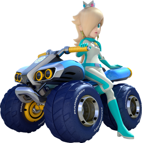 Rosalina Mario Kart 8 Yesssss Mario Kart 8 Artwork And With My Favorite Character To Boot Mario Kart 8 Mario Kart Super Mario Galaxy