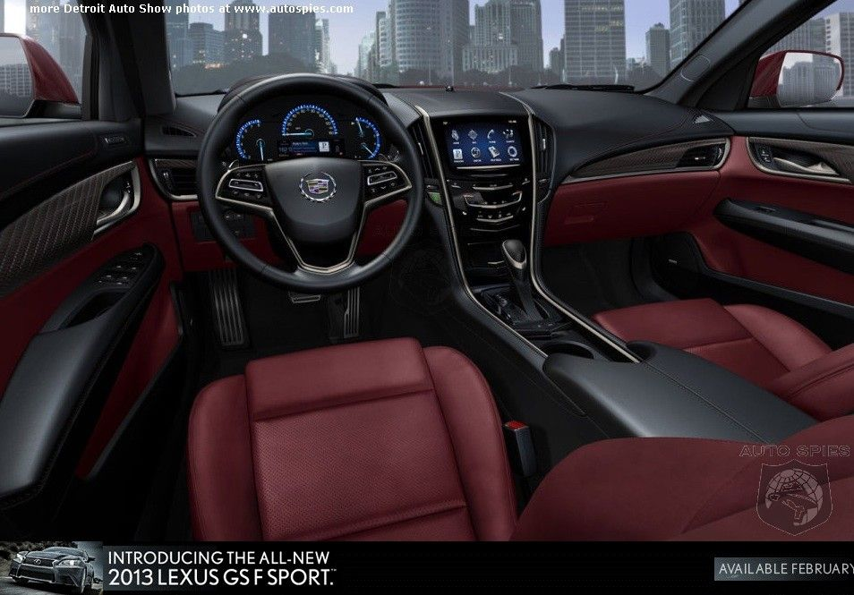 2013 Cadillac Xts Red Interior Cadillac Xts Pinterest Cadillac