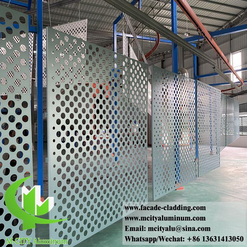 Pvdf Coating Metal Facades Aluminium Cladding Sheet For Philippines Projects In 2020 Aluminium Cladding Facade Cladding Metal Facade