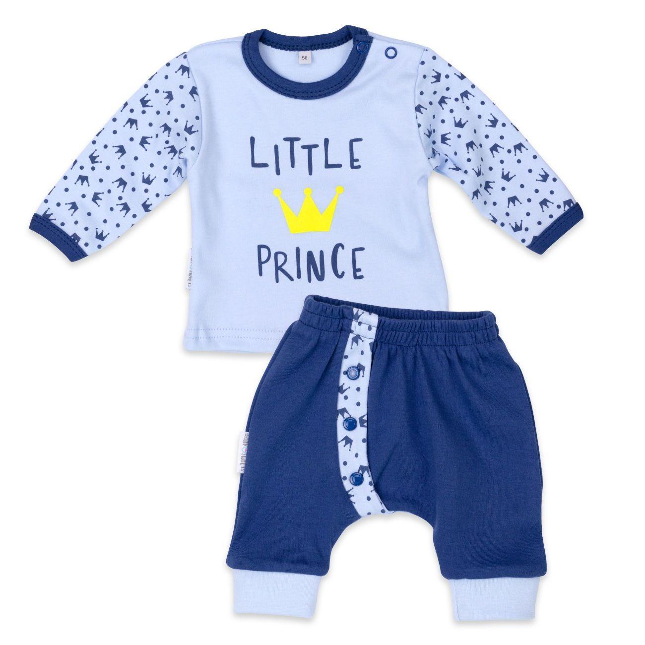 3b6fbb7a89 In dieser schnuckeligen Hose-Shirt-Kombi kommt der kleine Prinz richtig zur  Geltung!