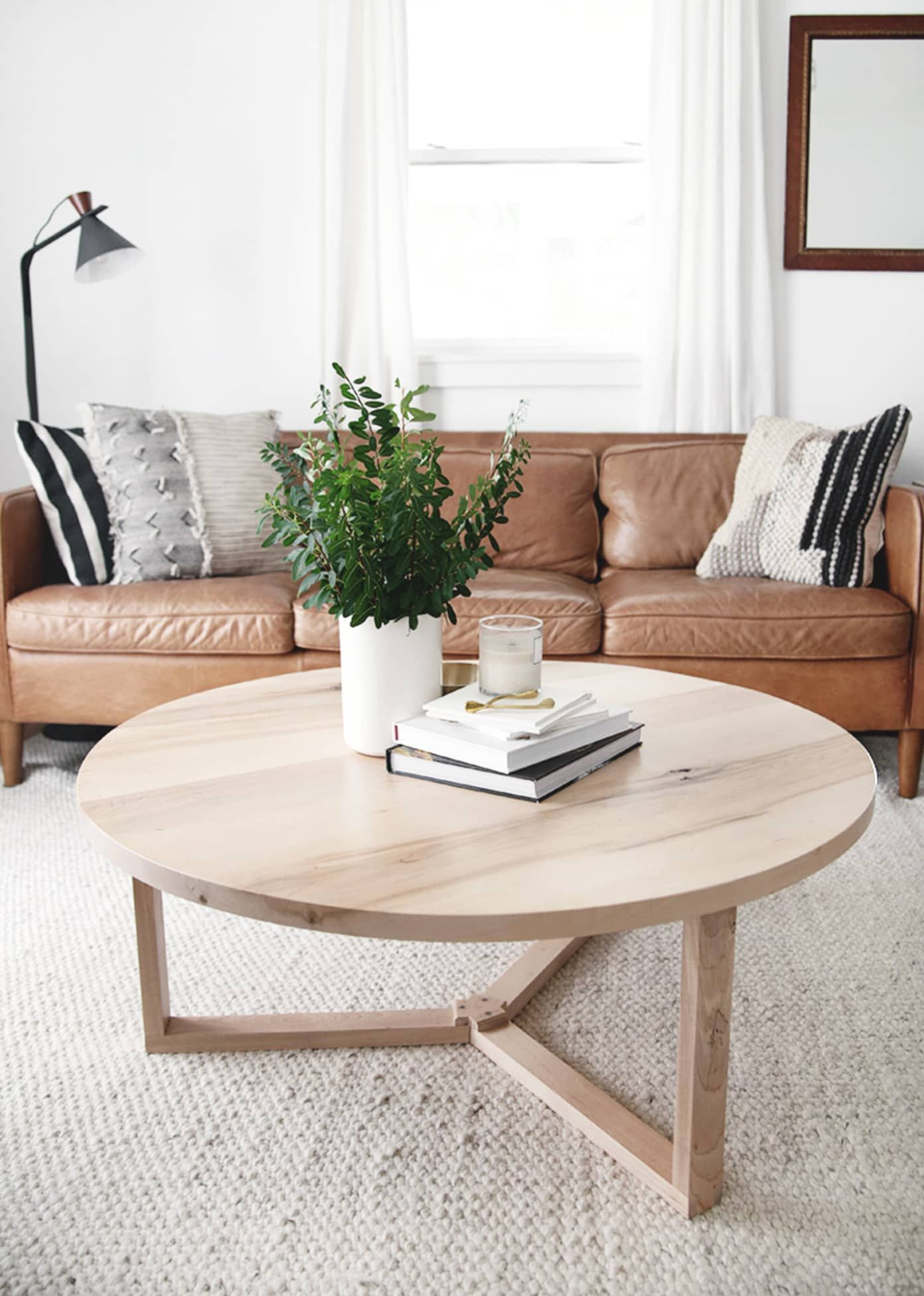 14 Diy Coffee Tables You Can Make No Matter Your Skill Level In 2020 Round Coffee Table Living Room Round Coffee Table Modern Round Coffee Table Diy