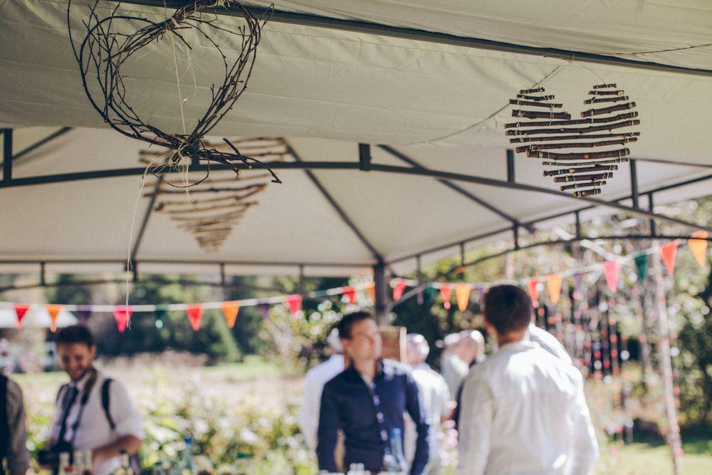 Notre mariage simple et convivial la montagne le for Au jardin singapore wedding