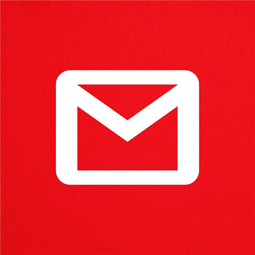 Email Gmail Red App Icon Iphone Wallpaper App App Icon Apple Icon