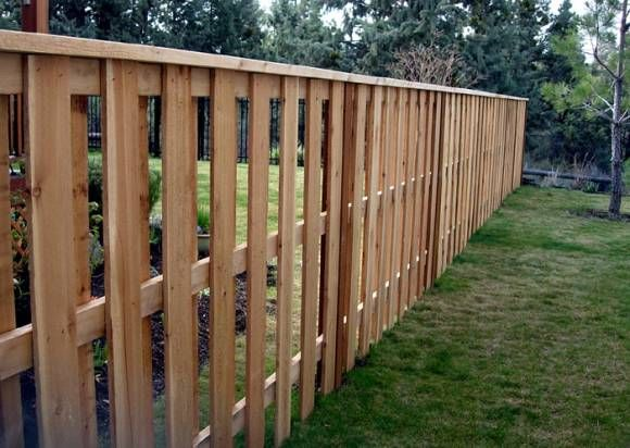 Backyard Fence Ideas Everyone Can See What You Re Doing