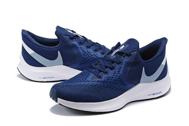 Nike Air Zoom Winflo 6 Dark Blue/White