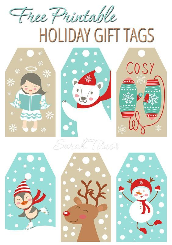 The BEST FREE Christmas Printables u2013 Gift Tags, Holiday Greeting - printable christmas gift certificate