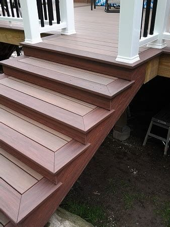 Best 5 Composite Deck Stairs Ideas