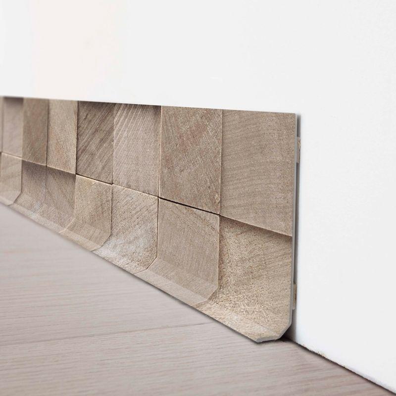 Un Effet Relief Magnifique Sur Cette Nouvelle Plinthe Originale - Plinthe carrelage et tapis d origine renault espace 4
